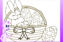 Easter Craft Ideas for kids / Easter Crafts for kids of all ages. Free Templates and tutorials. Crafts made mainly from recycled materials and printable templates. Hope you enjoy / by Fun Easy Kids Crafts