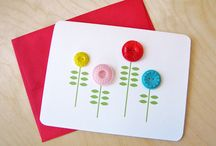 Paper Crafts with Buttons / by LOTSOFBUTTONS.COM