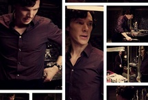 The Amazing Sherlock Holmes/ Benedict Cumberbatch / by Lezaan Brink