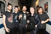 BRIT Awards Backstage / Discover the pictures of the BRIT Awards nominees, presenters and performers backstage with their Nabucco limited timepiece, especially designed for the event. / by RAYMOND WEIL