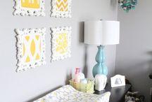 Nursery Ideas / Planning a baby room! / by Rachel Steward