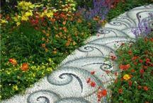 garden pathways / by Deb Miles