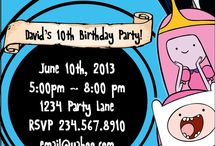 Adventure Time Party / by Missy Garcia