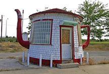 Unusual houses / by Judy Krueger