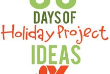 30 Days of Holiday Projects / by Xyron Inc.