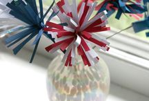 America! / Our favorite crafts and DIY ideas to celebrate the Red, White & Blue!  / by Astrobrights by Neenah Paper
