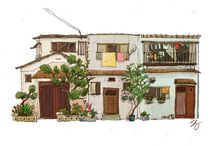 house illustrations / by Ian-Dawn Carpio