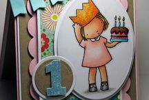 Little Girl Cards / by Mary Ely