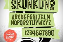 Typography & Fonts / by Gamerwife