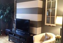 Accent wall / by Noel Rivera