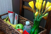 Things for a guest room / by Rachel Dennis Cox