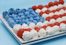 Red White and Blue / by Melissa Kaye