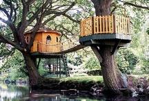 Tree houses / by Nancy Violette