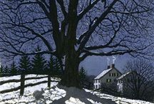 trees and scenes / by Debbie Jones