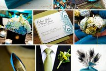 Wedding ~ Teal Inspiration / by Aphrodite's World / Weddings