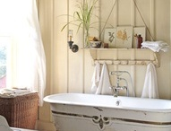 Bathroom inspiration  / by Jenni Swain
