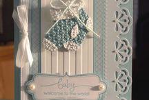Baby Cards / Handmade baby cards / by Lisa Mendoza