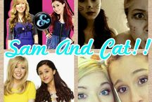 Sam and cat! / My favorite tv series / by Isabella Schopper