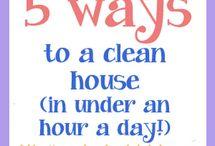 Cleaning  / by Melinda Eveland