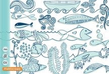 Creative Market ClipArt & Digital Graphics / by Carrie Stephens - FishScraps