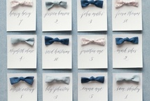 Escort Cards / Place Cards / by Expressions of You Event & Weddings Solutions