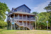 Frisco Vacation Rentals / Vacation rentals located in the Frisco village on Hatteras Island. / by Outer Beaches Realty