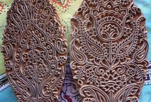 Print blocks and stencils / by Karlene Johnston