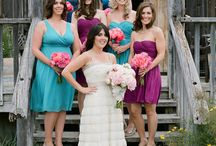 Bridesmaids dresses / by Twylen Hadley