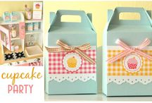 Cute as a Cupcake Party Ideas  / by Pretty Little Vintage {Melbourne}