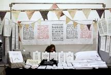 Market Stall Inspiration / by Rachel Bonness Design