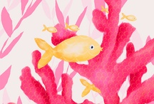 Hailey's Haven / Decor ideas for Hailey's new bedroom ~ the walls are salmon & yellow / by Janelle Carlson