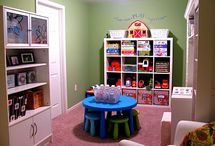 Toy room ideas / by Cathie Selkirk-Desborough