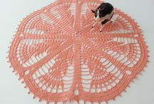 DoSymphony Shop / Crochet doilies, ornaments, lace stones, table runners, lace tablecloth, and others. http://dosymphony.tictail.com/ / by DoSymphony