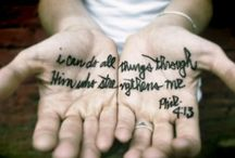 bible verses / by James N. Hill
