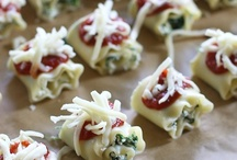 MMM.....Appetizers / by Crystal Stauffer