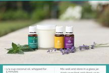 Young living oil recipes / by Clare