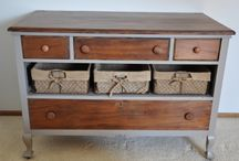 Upcycle furniture - from pretty to quirky / by Tracey Clark
