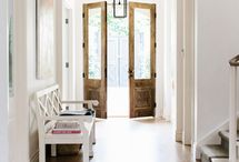 Entry way & doors / by Christan Phillips