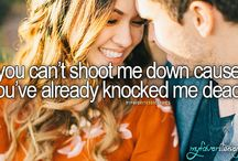 country music lyric quotes / by Stephanie Ice