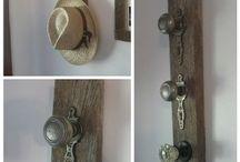 Barn wood ideas / by SeaSideSandys