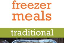 Freezer Meals, Food Planning / by Elly Konjkav-Kaboudian