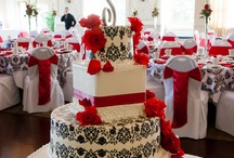 Red and Black Colors~Wedding Ideas / by Meredith Royston