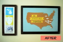 Travel Inspired Crafts & Decorating Ideas / by Tonya Prater (The Traveling Praters)
