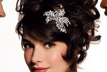 WEDDING HAIR AND MAKEUP / Ideas for wedding hair and makeup - vintage! / by Shauna Lee