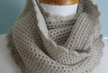 Crochet scarves and cowls / by Danan Rolfe