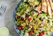 Salads / by Jennifer Umphress