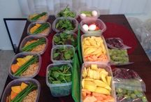Small Meal Prep / eat 5-6 times a day, small meals.  need to prep and plan ahead of time. / by Stephanie Acosta