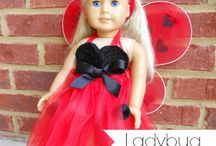 American Girl Doll / Sewing patterns, crafts and all kinds of American girl doll fun! / by Elizabeth Adler