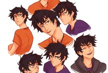 percy jackson / Oh man oh man. I LOVE this series. My favorite male characters are Nico, Leo, and Percy (though I love the Stolls, too). My favorite female characters are Annabeth, Reyna, and....Bianca? I have more favorite guy characters I guess. >.> Anyway, this series is amazing and makes me freak out and fangirl. I love Percebeth. ;* I have two black cats, the boy is named Nico, and the girl Bianca.  D / by Sami