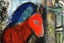 Chagall... / Works of Marc Chagall / by Kimberlee Robinson